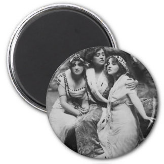 Vintage Everywoman Promotional 2 Inch Round Magnet