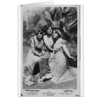 Vintage Everywoman Promotional Card