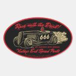 Vintage Evil 013A Sticker