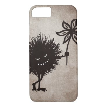 Halloween Themed Vintage Evil Bug Gives Flower Halloween iPhone 8/7 Case