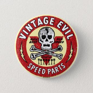 Vintage Evil nose art 001 Button