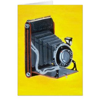 Vintage Expandable Camera Card