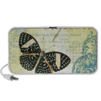 Vintage Explore Butterly...portable speaker