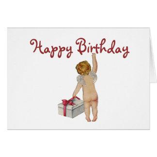 Vintage Expression Birthday Greeting Card