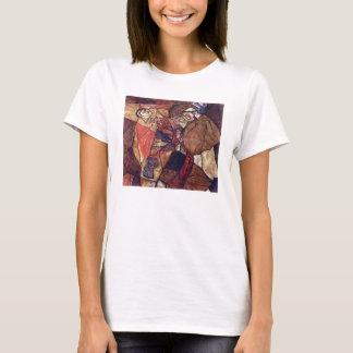 Vintage Expressionism Art, Agony by Egon Schiele T-Shirt
