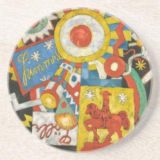Vintage Expressionism, Himmel by Marsden Hartley Coaster