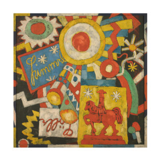 Vintage Expressionism, Himmel by Marsden Hartley Wood Wall Art