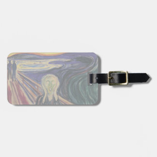 Vintage Expressionism, The Scream by Edvard Munch Bag Tag
