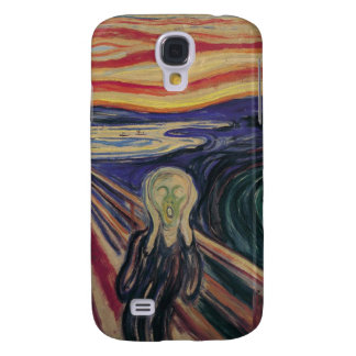 Vintage Expressionism, The Scream by Edvard Munch Galaxy S4 Cover