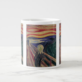Vintage Expressionism, The Scream by Edvard Munch Large Coffee Mug