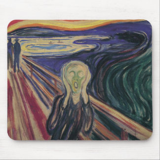 Vintage Expressionism, The Scream by Edvard Munch Mouse Pad