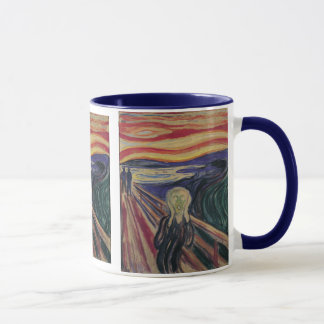Vintage Expressionism, The Scream by Edvard Munch Mug