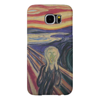 Vintage Expressionism, The Scream by Edvard Munch Samsung Galaxy S6 Case