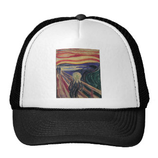 Vintage Expressionism, The Scream by Edvard Munch Trucker Hat