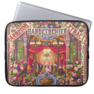 Vintage Extracts Ad 1854 Laptop Computer Sleeve