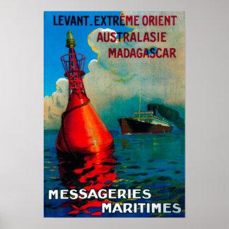 Vintage extremo PosterEurope de Levant Oriente Poster