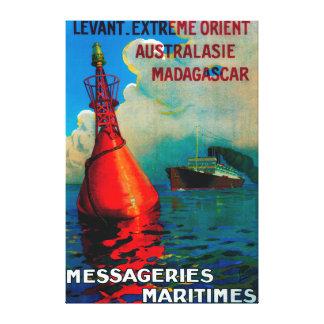 Vintage extremo PosterEurope de Levant Oriente Impresión En Lona Estirada