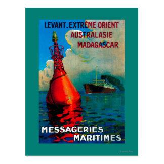 Vintage extremo PosterEurope de Levant Oriente Postales