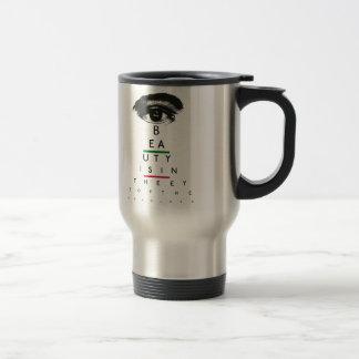 Vintage Eye Chart Gifts Travel Mug