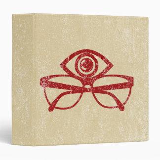 Vintage Eye & Eyeglasses Binder