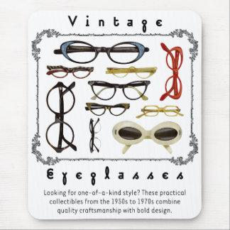 Vintage Eyeglasses 01 Mouse Pad