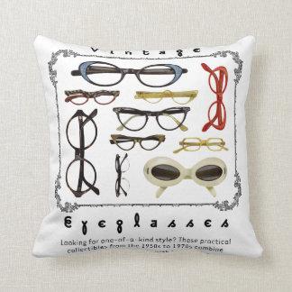 Vintage Eyeglasses 01 Throw Pillow