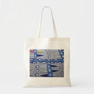 Vintage Fabric Graphic Design Tote Bag