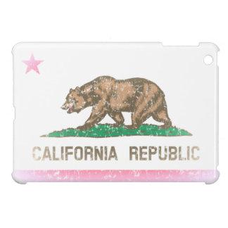 Vintage Fade California Flag iPad Mini Cover