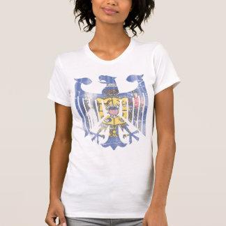 Vintage Fade Wisconsin Flag German Eagle Heritage T-Shirt