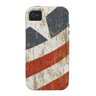 Vintage Faded American Case For The iPhone 4