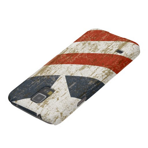 Vintage Faded American Galaxy S5 Cover