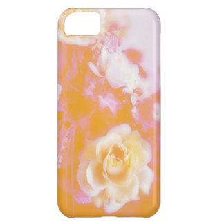 Vintage Faded Floral Arrangement Photography Case For iPhone 5C
