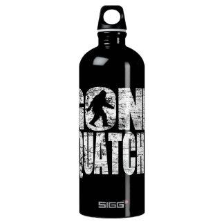 Vintage Faded Gone Squatchin Aluminum Water Bottle