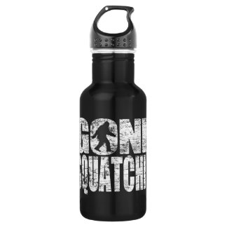 Vintage Faded Gone Squatchin 18oz Water Bottle