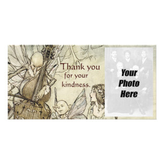 Vintage Faerie Thank You Photo Cards