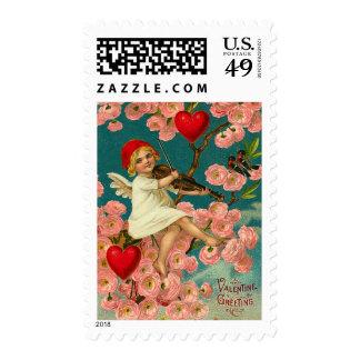 Vintage Faerie Valentine Postage