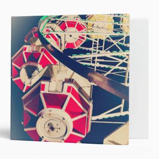 Vintage Fair Ferris Wheel Binder