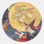 vintage faires round stickers