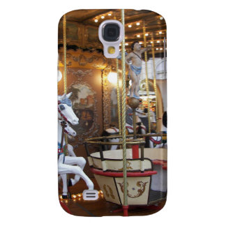 Vintage Fairground Carousel Galaxy S4 Cases