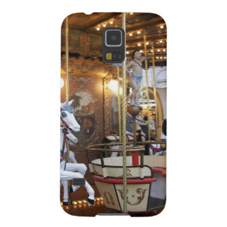 Vintage Fairground Carousel Galaxy S5 Cases