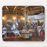 Vintage Fairground Carousel Mouse Pads