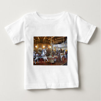 Vintage Fairground Carousel T Shirt