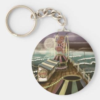 Vintage Fairground Peer Keychain