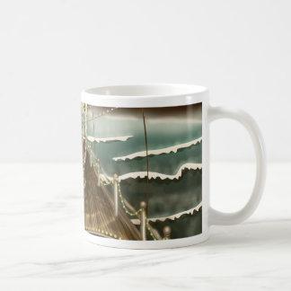 Vintage Fairground Peer Classic White Coffee Mug