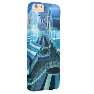 Vintage Fairground seaside Peer and Ferris Wheel Barely There iPhone 6 Plus Case