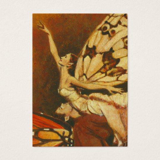 Vintage Fairies ACEO Business Card