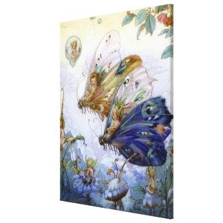 Vintage Fairy Aviators Gallery Wrap Canvas