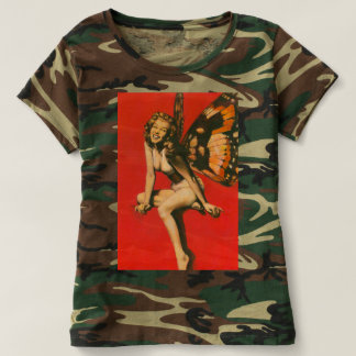 Vintage Fairy Camouflage T-shirt