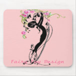 VINTAGE FAIRY FAY DESIGN MOUSE PAD