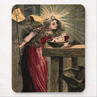 Vintage Fairy Godmother Mouse Pad